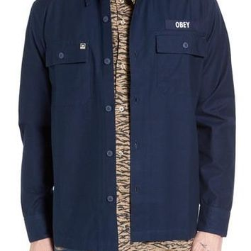 Mission Military Shirt Jacket