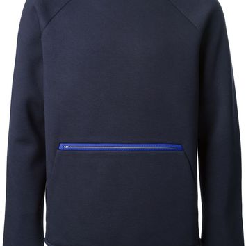 T By Alexander Wang zip detail sweatshirt