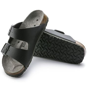 Sale Birkenstock Arizona Birko Flor Black 0089420/0089428 Sandals