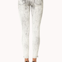 Life In Progress™ Acid Wash Skinny Jeans | FOREVER 21 - 2000091990