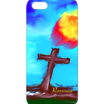 "BUY This Awesome ""Faith"" Cross iPhone and Android Phone Cases."
