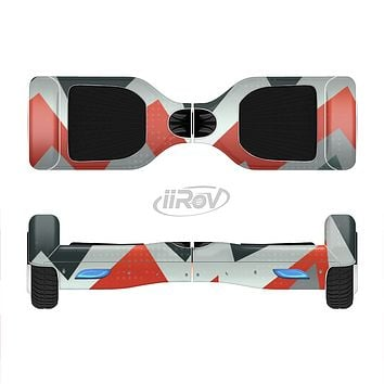 The Abstract ZigZag Pattern v4 Full-Body Skin Set for the Smart Drifting SuperCharged iiRov HoverBoard