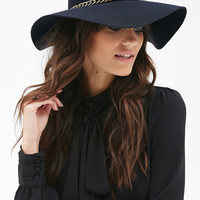 Chained Wool Fedora