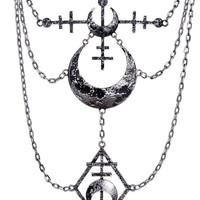 La Luna [Silver] | NECKLACE