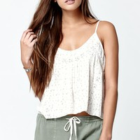 Billabong Love Is Lost Woven Tank Top - Womens Shirts - White