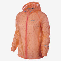 Nike Vapor Cyclone Packable Women's Running Jacket - Atomic Orange