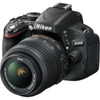 Nikon - D5100 16.2-Megapixel DSLR Camera with 18-55mm VR Lens - Black