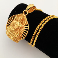 Stylish New Arrival Gift Shiny Jewelry Hip-hop Club Necklace [8439431747]