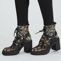 MOTOR Heeled Hiker Boots - Shoes