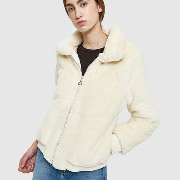 Which We Want / Sol Plush Jacket in Beige