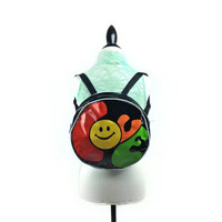 Vintage 90's Smiley Face Love Backpack