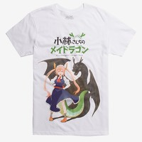 Miss Kobayashi's Dragon Maid Kanji T-Shirt Hot Topic Exclusive