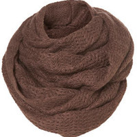Mink Zig Zag Snood - Scarves  - Accessories  - Topshop USA