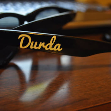 Customized Sunglasses Decal