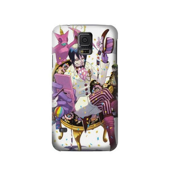 P2236 Ao no Exorcist Blue Exorcist Mephisto Pheles Phone Case For Samsung Galaxy S5
