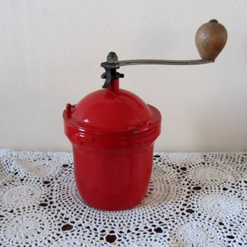 Rare Vintage French Peugeot Freres GI Coffee Mill/Grinder