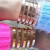 Kylie Bangles - Gold, Silver or Rose Gold