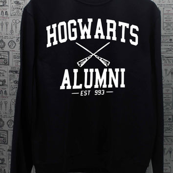 HOGWARTS ALUMNI - Harry Potter - Sweatshirt black Sweater