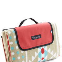 ModCloth Travel Snappy Trails Picnic Blanket