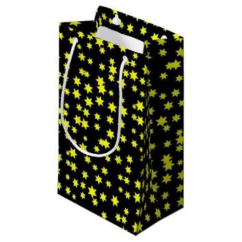 Yellow Stars Small Gift Bag