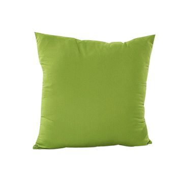 solid color pillowcase decorative throw pillow euro pillow cover pillowcase for the pillow 45*45