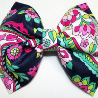 VERA BRADLEY Petal Paisley bow (Also offered in: Tutti Frutti, Midnight Blues, Paisley Meets Plaid, Lilli Bell, Plum Crazy and more)