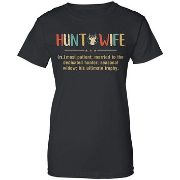 Vintage Funny Hunting Husband Hunt Wife Most Patient Married