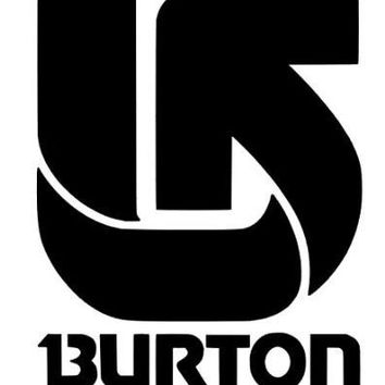 Burton Snowboard Skateboards Vinyl Car Decal