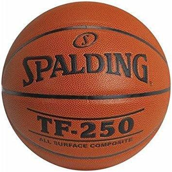 Spalding TF-250 Basketball Suitable For Indoor or Outdoor Use, Intermediate, 28.5