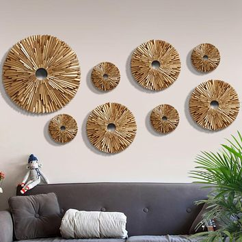 European modern round decorative wall hanging