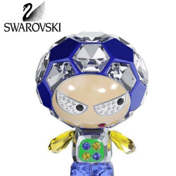 Swarovski Colored Crystal Figurine ELIOT Soccer #5055930 Box New