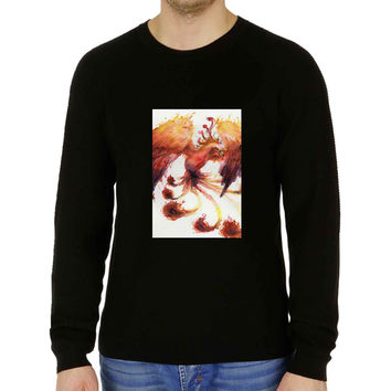 Watercolor bird Phoenix - Sweater for Man and Woman, S / M / L / XL / 2XL **