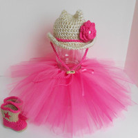 Crochet Cowgirl Princess Hat Boots and by handmadebychhunneang