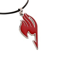 Charming Jewelry Hot Selling Alloy Fairy Tail Guild Sign Pendant Necklace 4 Colors