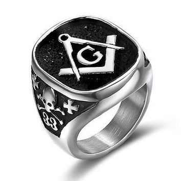 33 Degree Vintage Masonic Ring