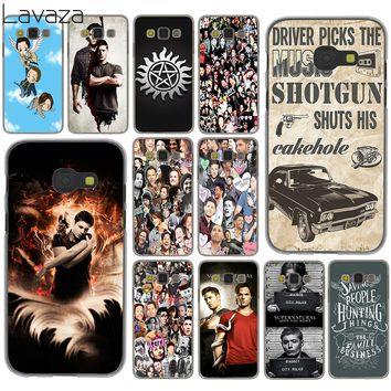 Lavaza Supernatural Jensen Ackles Dean Winchest for Samsung Galaxy A6 A8 Plus 2018 A3 A5 2017 2016 2015 Grand Prime Note 9 8