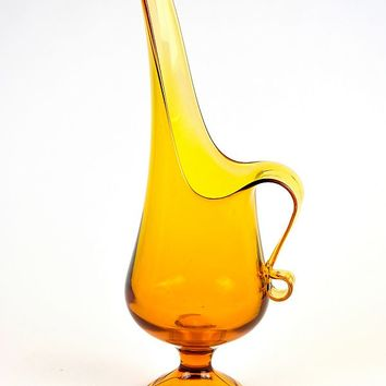 Patina Vie Vintage Grand Amber Pitcher