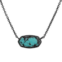 Elisa Pendant Necklace in Variegated Teal Magnesite - Kendra Scott Jewelry