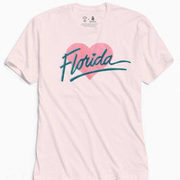 UO Community Cares + Hurricane Relief Florida Heart Tee | Urban Outfitters