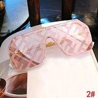 FENDI Fashion Women Men Personality Shades Eyeglasses Glasses Sunglasses 2#