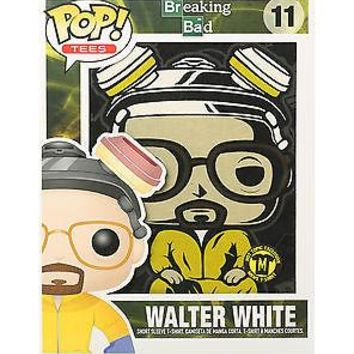 Licensed cool Funko POP! Tees Breaking Bad Walter White #11 T-Shirt & Mini Standee Hot Topic