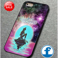 In The Moon light Nebula Space Ariel The Little Mermaid for iphone, ipod, samsung galaxy, HTC and Nexus Case