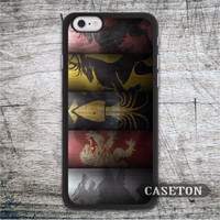 All House GOT Game Of Thrones Case For iPod 5 and For iPhone 7 6 6s Plus 5 5s SE 5c 4 4s Classic High Quality Phone Cover