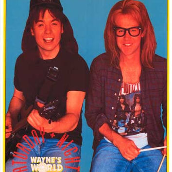 Wayne's World Party Time Poster 11x17