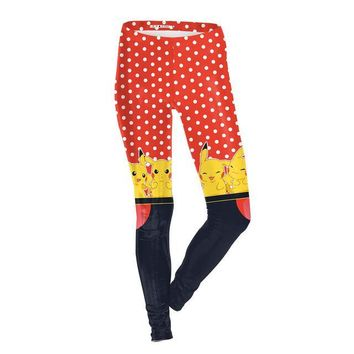 Dotted Pokemon Leggings