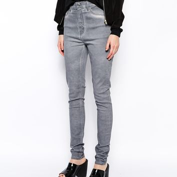 Weekday Thursday High Rise Skinny Jeans