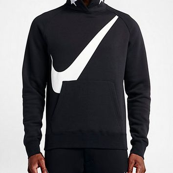 Nike: fashion men's Sweater Size sports Hoodie cotton running sportswear