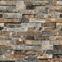 Faux Stone Brick 3D Wallpaper