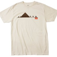 Life Camels Natural Graphic Tee by Altru Apparel