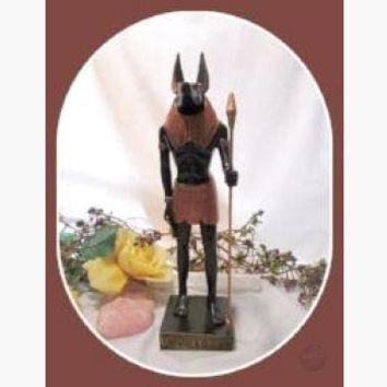 """Opener of the Way"" Anubis Statue"
